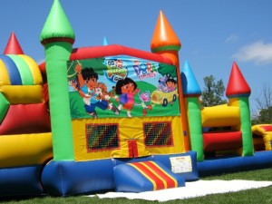 Big-Bounce-Rentals-Dora-Theme-Rainbow-Combo-3