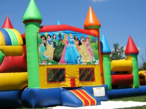 Big-Bounce-Rentals-Princess-Theme-Rainbow-Combo-10
